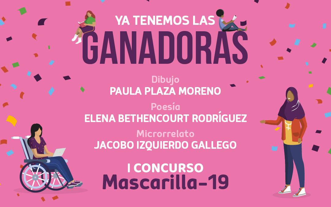 Ya tenemos las ganadoras del I Concurso Mascarilla-19