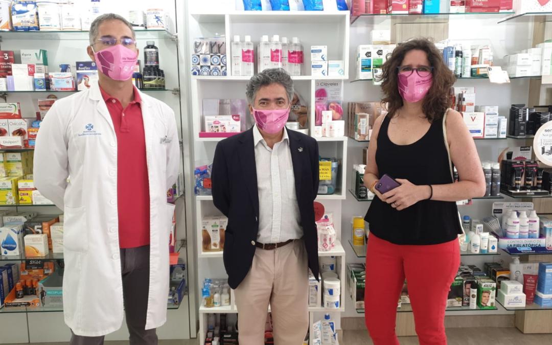 El ICI refuerza su campaña 'Mascarilla-19' en las islas no capitalinas en colaboración con las farmacias