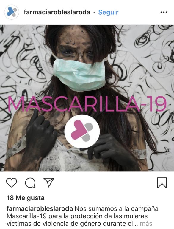 Publicación de Farmacia Robles La Roda