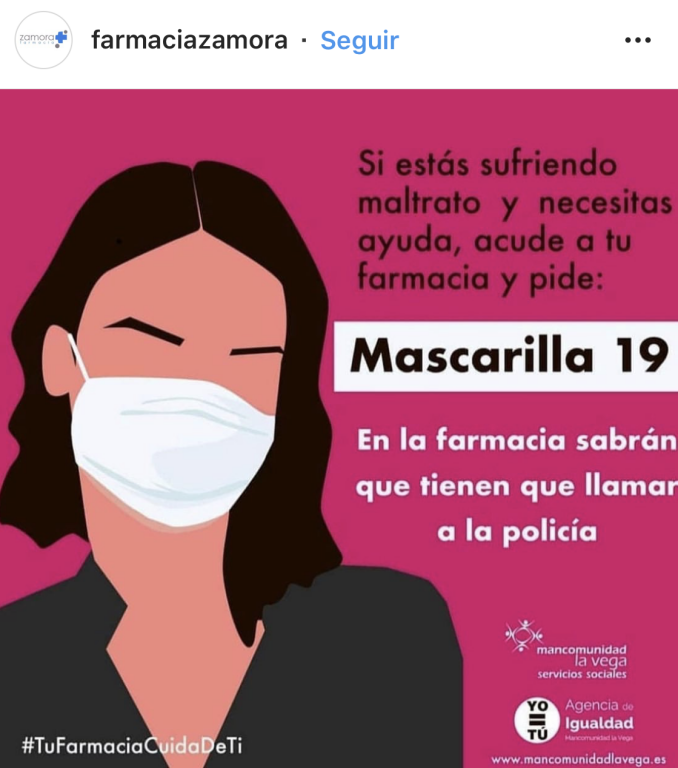 Cartel Farmacia Zamora