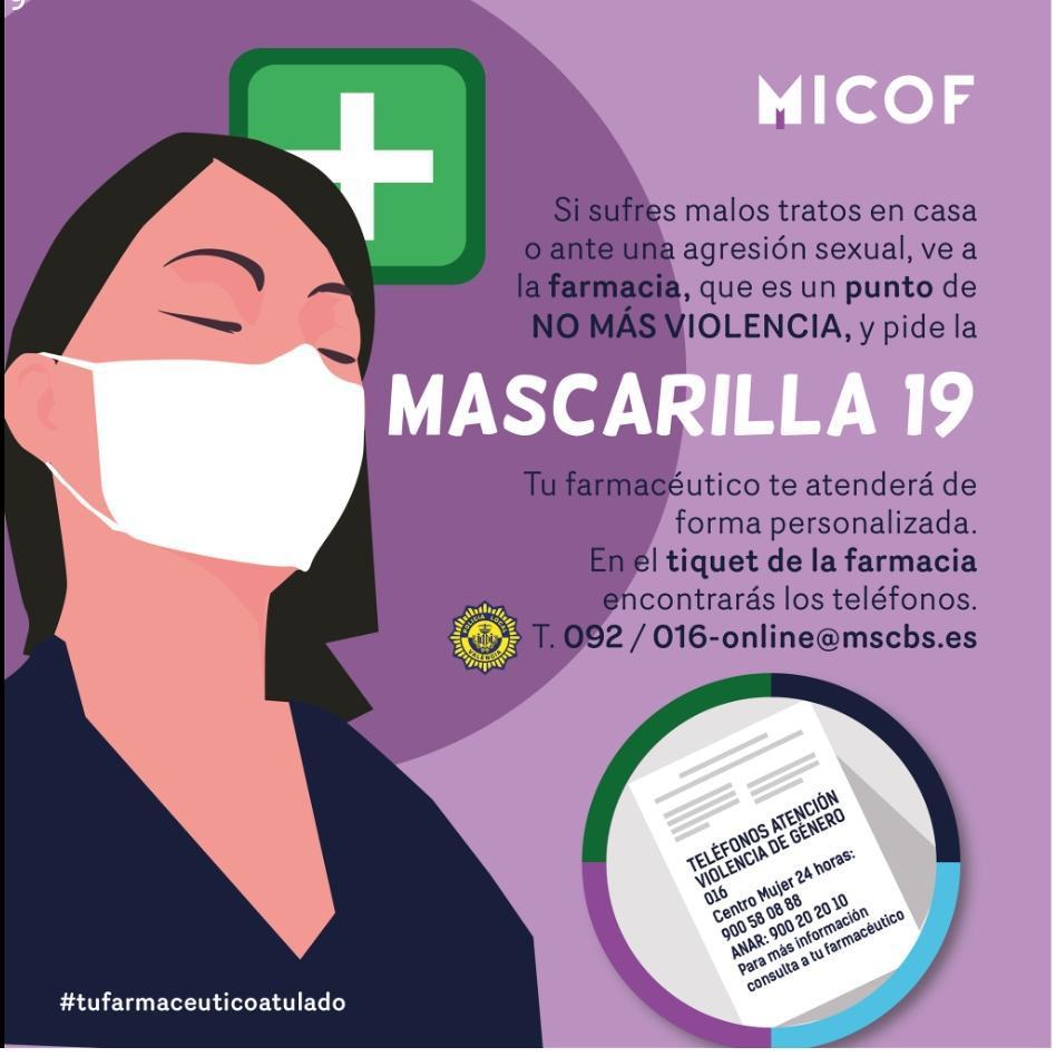 Cartel Ministerio de salud