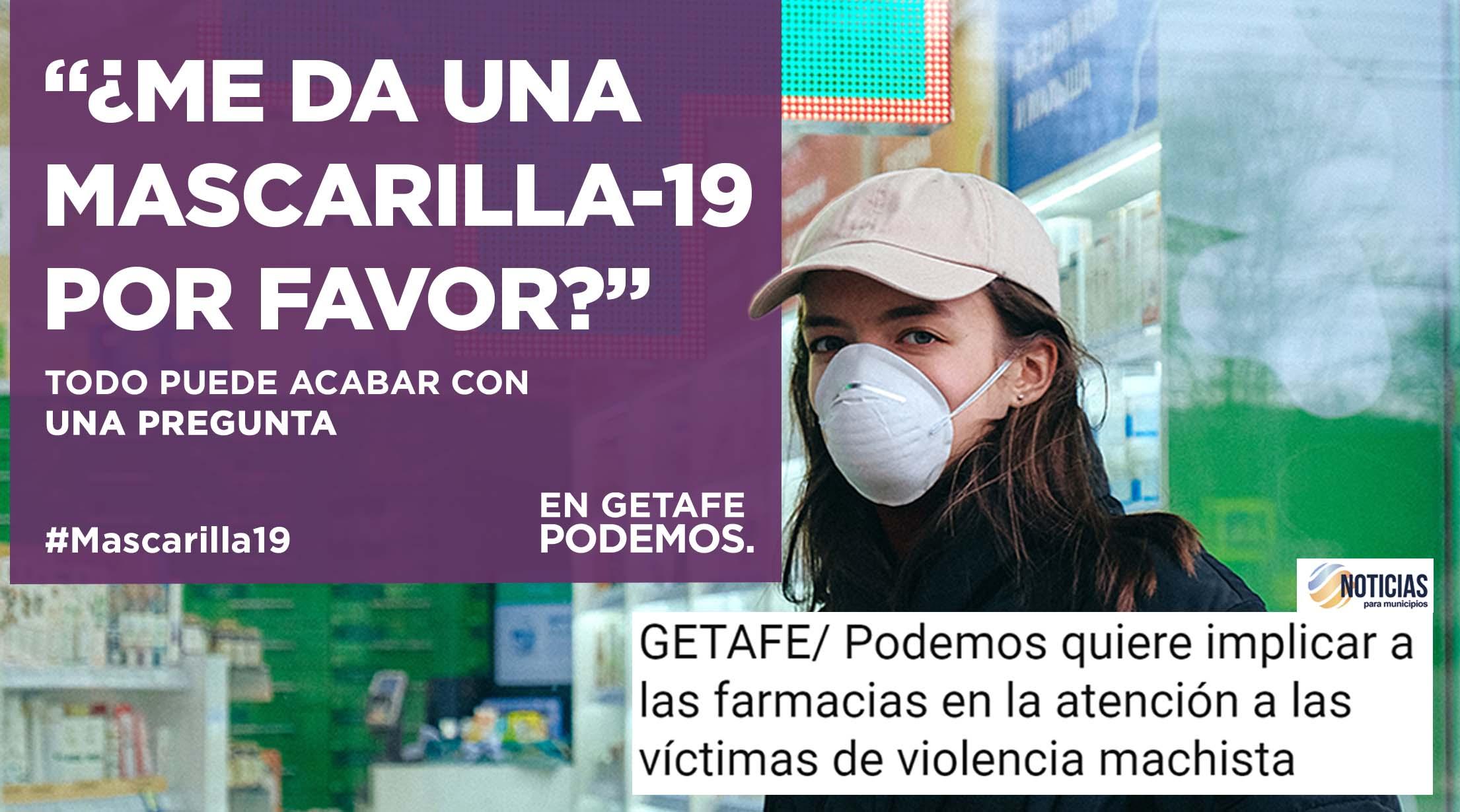 Cartel Podemos Getafe