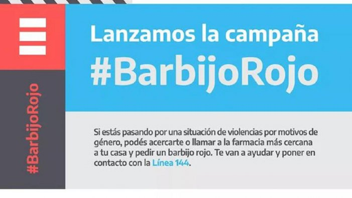 Cartel BarbijoRojo